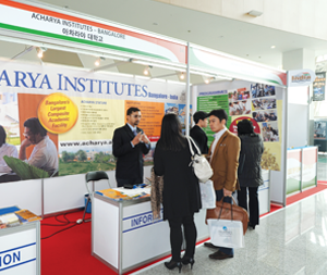 education fair in south korea