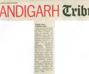 Chandigarh Tribune 19th Jan 2014